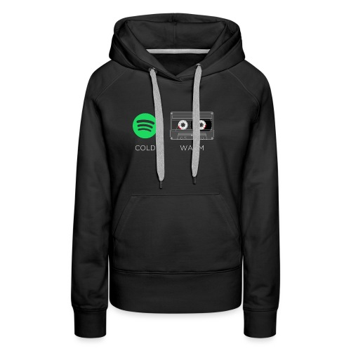 Spotify cold - warm cassette - Women's Premium Hoodie