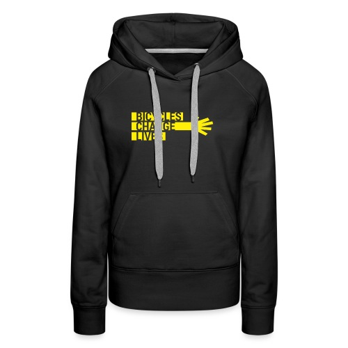 BCL Shirt Back White - Women's Premium Hoodie