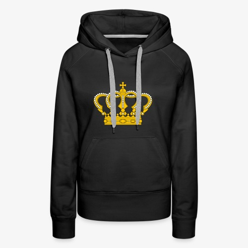 Crown Cross - Frauen Premium Hoodie