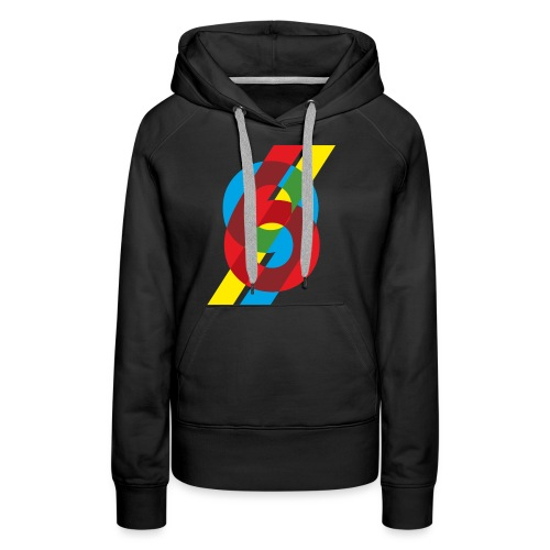 colorful numbers - Women's Premium Hoodie
