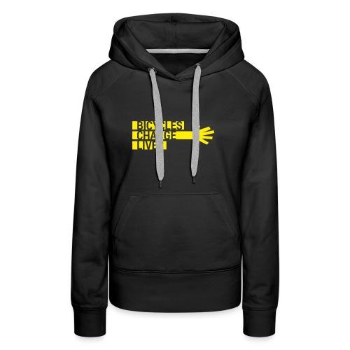 BCL Yellow Hand - Women's Premium Hoodie