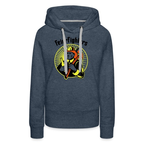 feierfighters - Frauen Premium Hoodie