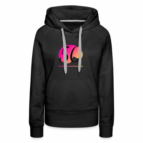 T-Shirt zum 50. Geburtstag Herren Emblem - Frauen Premium Hoodie