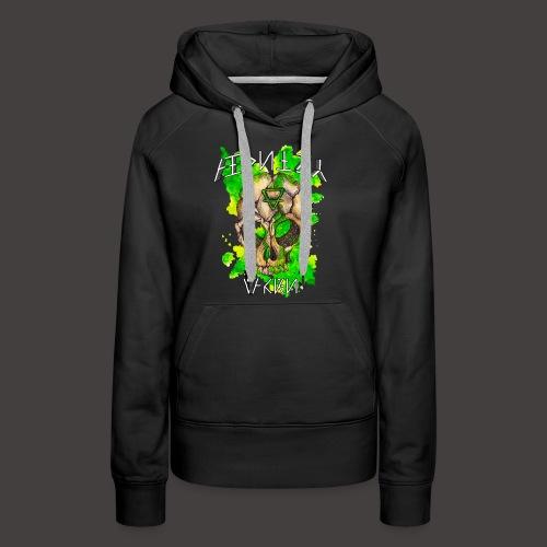 ALCHIMY: EARTH ELEMENT - Sweat-shirt à capuche Premium pour femmes
