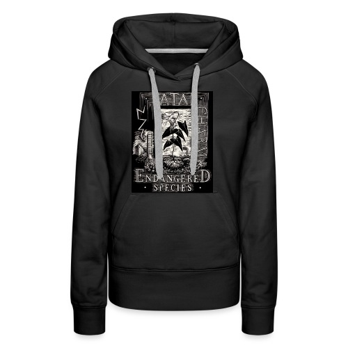 fatal charm - endangered species - Women's Premium Hoodie
