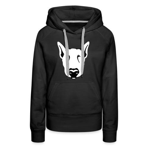 Bull Terrier Head - Women's Premium Hoodie