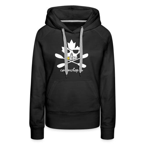 Maple_Pirate_20_weiss - Frauen Premium Hoodie