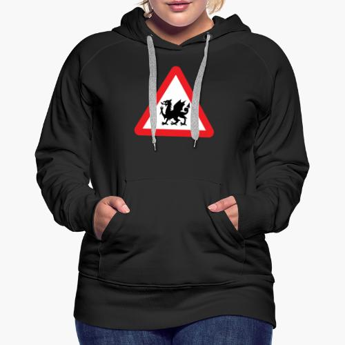 Welsh Dragon - Women's Premium Hoodie