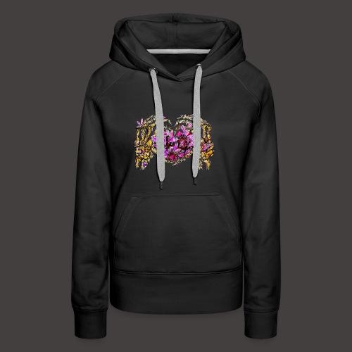 L amour Cristallin Creepy - Sweat-shirt à capuche Premium pour femmes