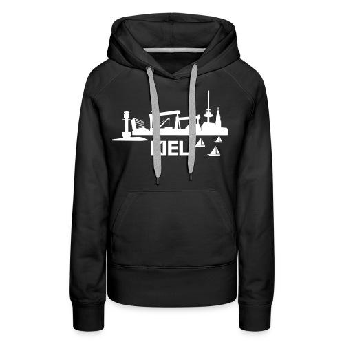 KIEL skyline - Frauen Premium Hoodie