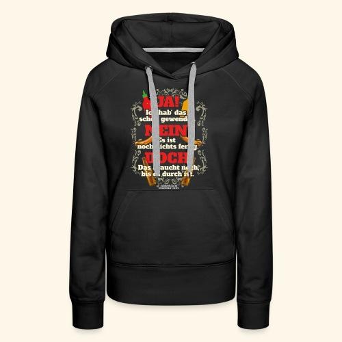 Grill T Shirt | witziger Spruch | Geschenkidee - Frauen Premium Hoodie