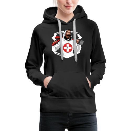 Swiss Fitness Hero - Frauen Premium Hoodie