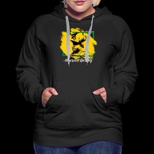 MARCUS GARVEY by Reggae-Clothing.com - Frauen Premium Hoodie