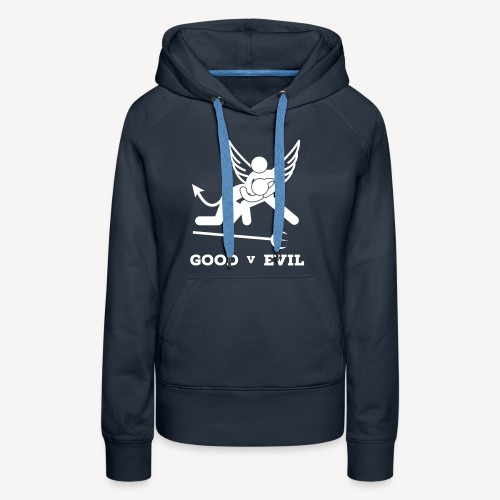 GOOD V EVIL - Women's Premium Hoodie