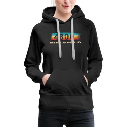 Bielefeld 4800 Retro PLZ Postleitzahl - Frauen Premium Hoodie