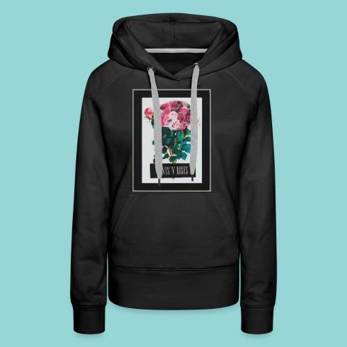 cunts_n_roses_MAIN - Frauen Premium Hoodie
