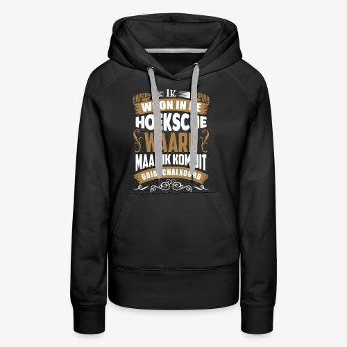 Goidschalxoord - Vrouwen Premium hoodie
