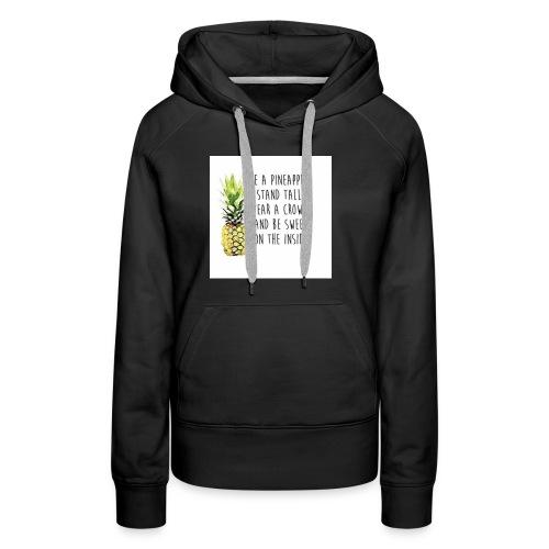 pineapple - Women's Premium Hoodie
