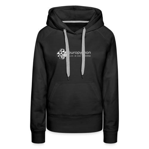 EuroPython 2020 - White Logo - Women's Premium Hoodie