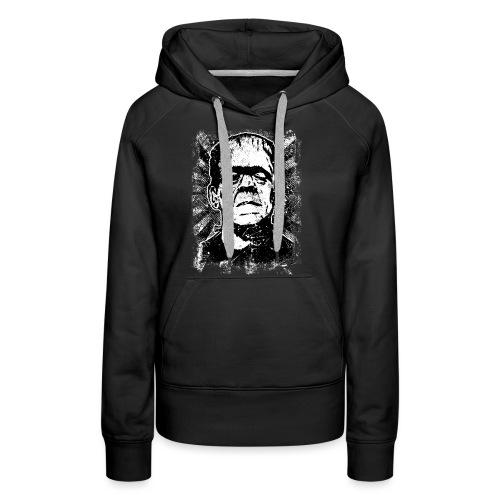 Boris Karloff/Frankenstein vintage sw - Frauen Premium Hoodie