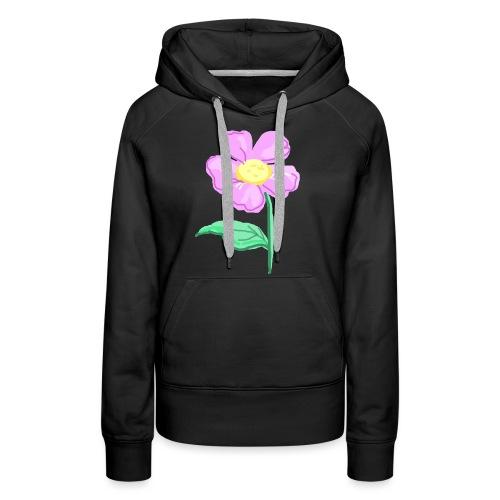 Violette - Sweat-shirt à capuche Premium pour femmes