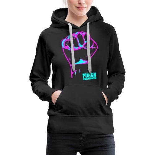 Punch Underground Neon - Frauen Premium Hoodie