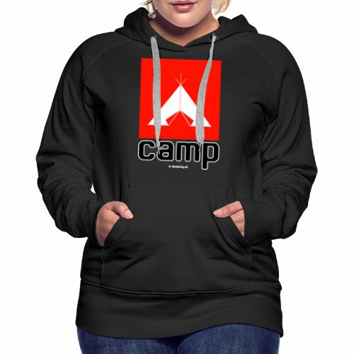 Camp - Vrouwen Premium hoodie