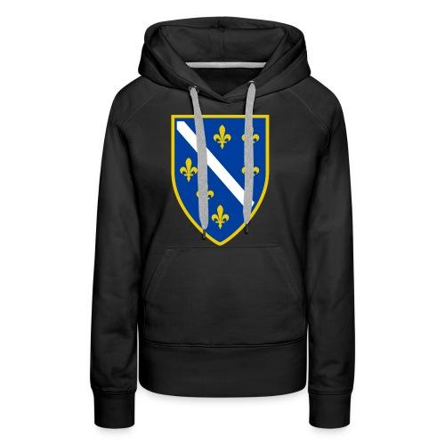 Alt bosnisches Wappen - Frauen Premium Hoodie