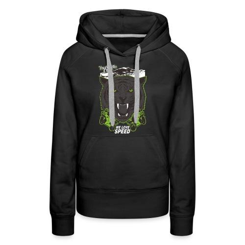 T-Shirt Bear Powershifter - Frauen Premium Hoodie