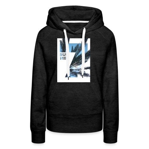 Summertime - Vrouwen Premium hoodie