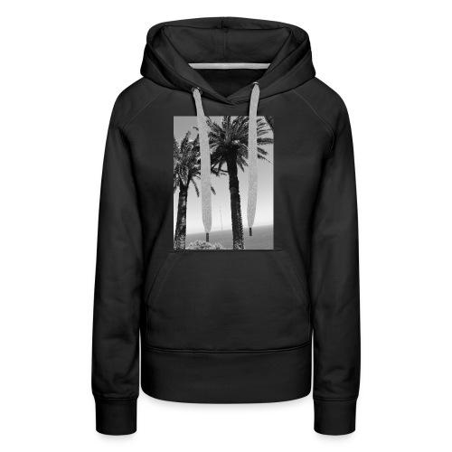 arbre - Sweat-shirt à capuche Premium pour femmes