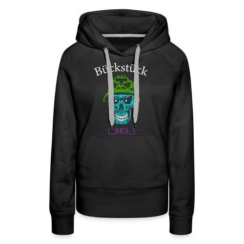 RueckenansichtDruck - Frauen Premium Hoodie