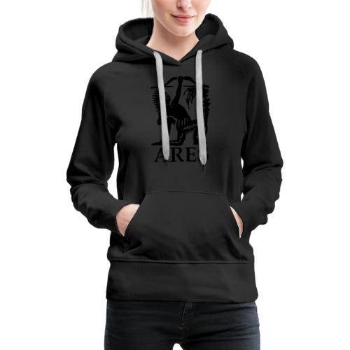 ARES ORIGINAL /24 - Sudadera con capucha premium para mujer