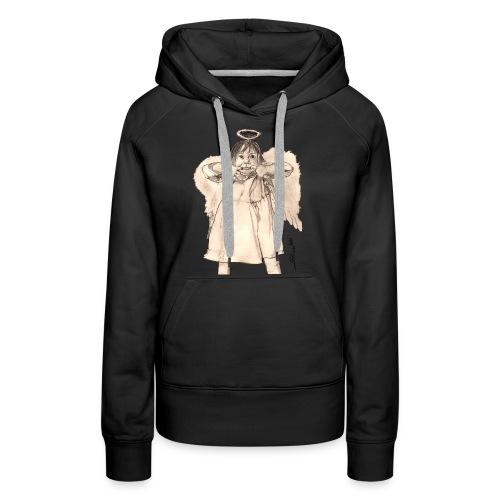 Frecher Engel - Frauen Premium Hoodie