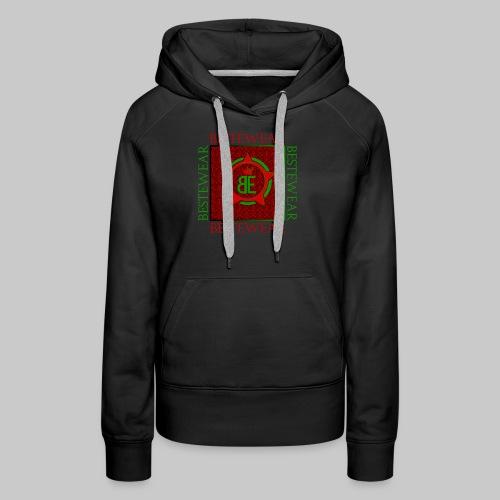#Bestewear - Royal Line (Green/Red) - Frauen Premium Hoodie