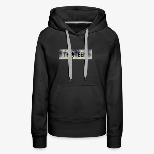 Box Logo Thirteen - Vrouwen Premium hoodie