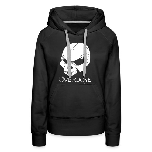 overdose front 1 - Frauen Premium Hoodie