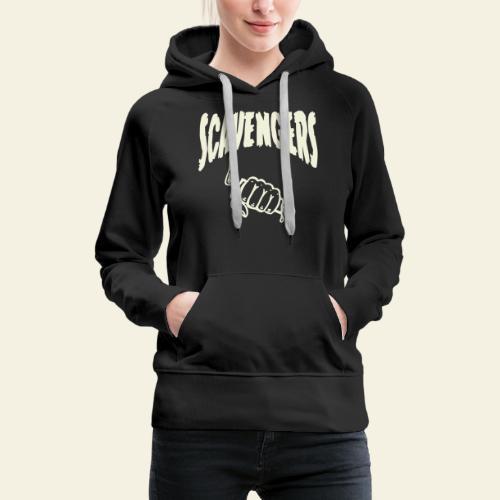 scavengers - Dame Premium hættetrøje