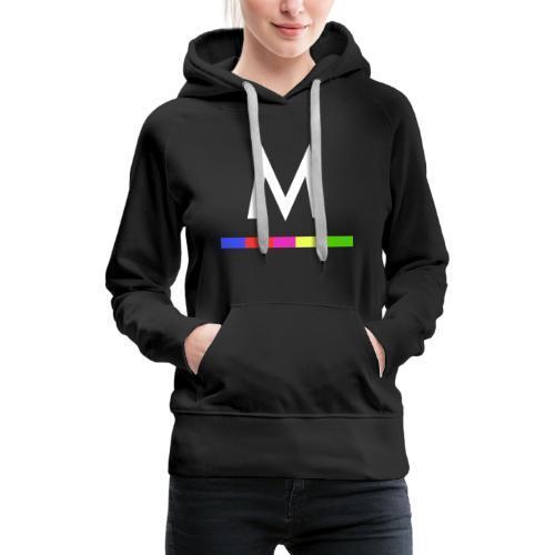 Metro - Sudadera con capucha premium para mujer