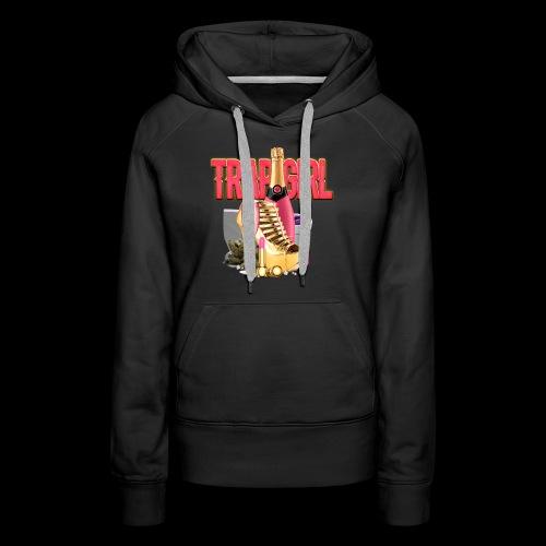 TRAPGIRL - Frauen Premium Hoodie