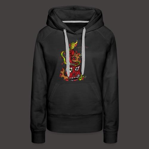 BIOMECANIC PEAR - Sweat-shirt à capuche Premium pour femmes