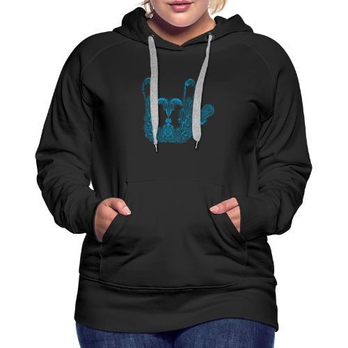 ILY Handzeichen Mandala - Frauen Premium Hoodie