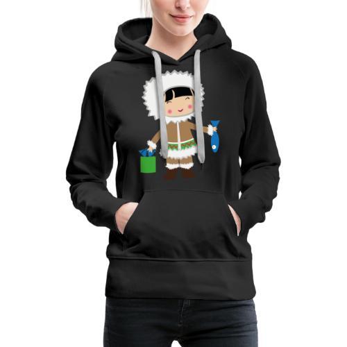 Happy Meitlis - Alaska - Frauen Premium Hoodie