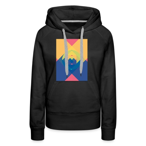 square and shadow - Frauen Premium Hoodie