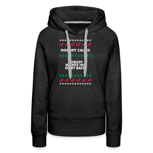 Christmas sweater - Vrouwen Premium hoodie