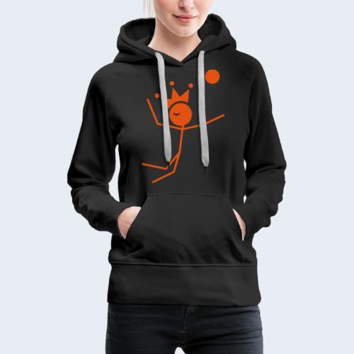Volleybalkoning - Vrouwen Premium hoodie