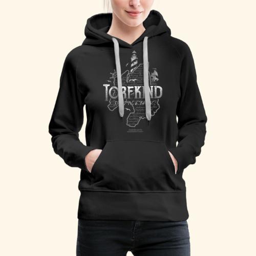 Torfkind Islay Whisky T Shirt Design - Frauen Premium Hoodie