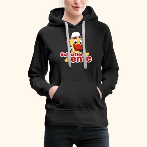 Schnatterinchen Schnatterente - Frauen Premium Hoodie