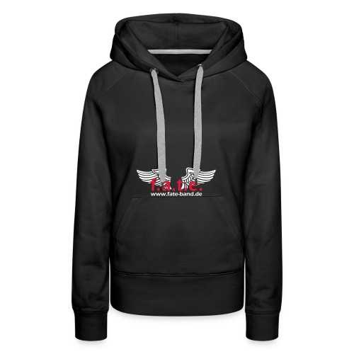 fate logo spreadshirt 2 - Frauen Premium Hoodie
