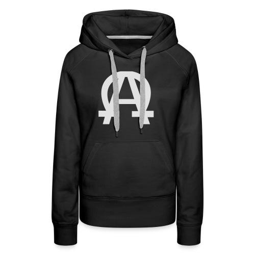 alpha-oméga - Sweat-shirt à capuche Premium pour femmes